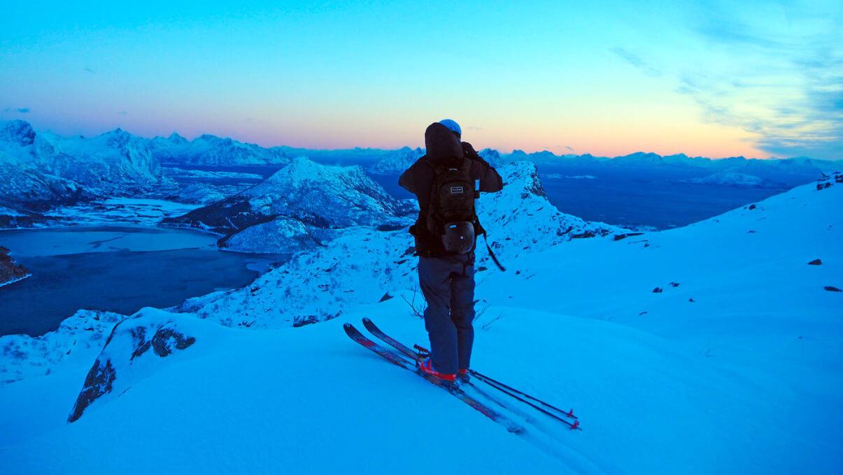 Lofoty w Norwegii na skiturach